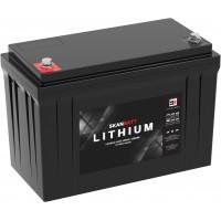 Lithium batteri med bluetooth og varme