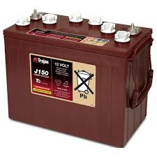 TROJAN J 150 batteri 12 volt tilbud pris