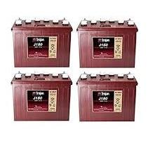 TROJAN J 150 batterier 12 volt tilbud pris 4 pack