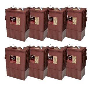 TROJAN J 305 batterier 6 volt tilbud pris 8 pack