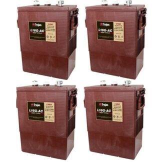 TROJAN L16G AC batterier 6 volt tilbud pris 4 pack