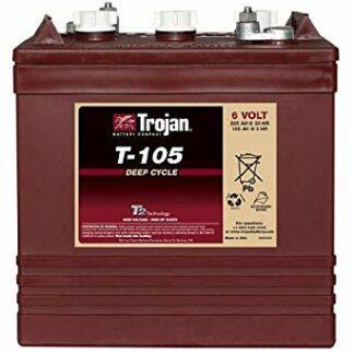 TROJAN T 105 batteri 6 volt tilbud pris