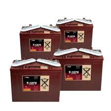 TROJAN T 1275 batterier 12 volt tilbud pris 4 pack