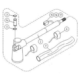 4CB4253X Dino lift servo motor sving motor