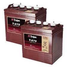 TROJAN batteri T 875 8 volt tilbud pris 2 pack