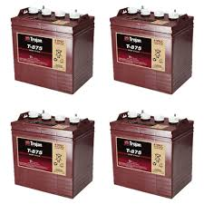TROJAN batteri T 875 8 volt tilbud pris 4 pack