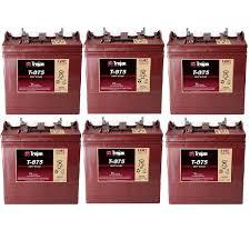 TROJAN batteri T 875 8 volt tilbud pris 6 pack