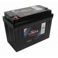 SKANBATT Lithium batteri HEAT PRO Ultra 12V 120AH - CAN Bus - lav pris